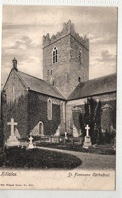 irish postcard ireland clare killaloe cathedral