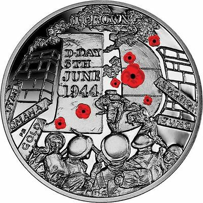 The 2014 70th Anniversary of D-Day Coloured Coin