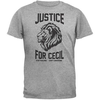Justice for Cecil Royal Adult T-Shirt