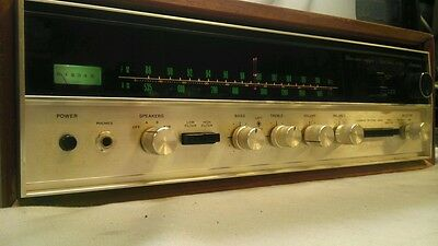 Sansui Stereo Tuner Amplifier Solid State 2000x Vintage - With Manual - WORKS