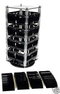 Earring Rotating Display Stand Revolving W/100 Cards