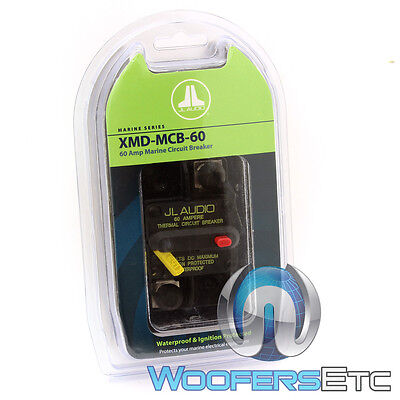 Jl Audio Xmd-Mcb-60 Amp Car Marine Boat Water-Proof Amplifier Circuit Breaker