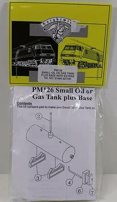 Knightwing OO Scale Small Oil or Gas tank Plus Base. Au Seller (PM126)