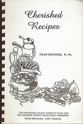*crab Orchard Wv Vintage *woman's Club  *raleigh County Cook Book *local Ads