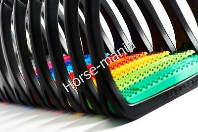 Premium Profile Polymer Stirrups Lightweight Assorted Colours Adults/kids (686)