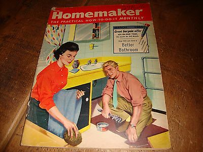 VINTAGE HOMEMAKER Magazine March 1960 Edition