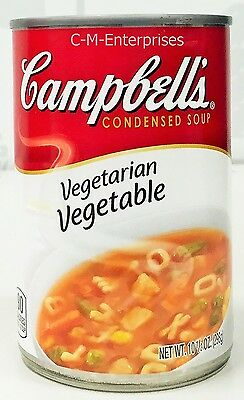 Campbell's Vegetarian Vegetable Condensed Soup 10.5 oz 3 Cans Campbells