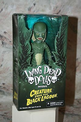 Living Dead Dolls Creature From The Black Lagoon Ldd 2015 Mezco New Sealed