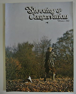 Magazine. Shooting & Conservation. Winter, 1981.