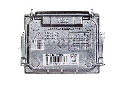 Valeo 6G Xenon Headlight Headlamp Ballast Control Unit 89034934 ECU Module