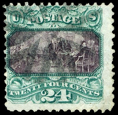 120 24 Cent 1869 Issue Used Thin