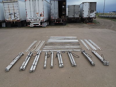 "GME Aluminum Trench Vertical Shores Kit 52""-88"" 16 Cylinders 16 Rails"