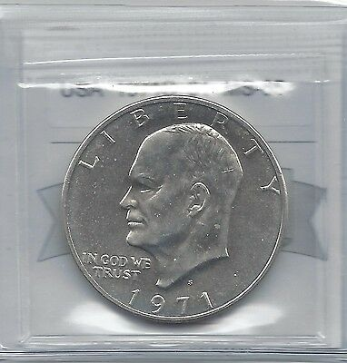**USA**,1971S, Eisenhower Silver Dollar