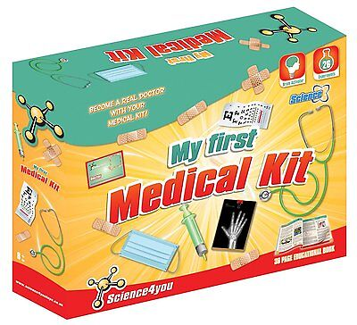 Brand New Science4You My First Medical  Kids Experiment Kit