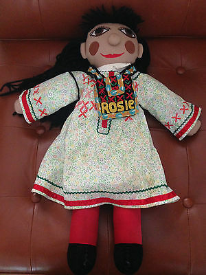 "19"" Rosie from Rosie and Jim with Bag."