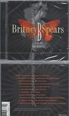 Cd--Britney Spears--B In The Mix-The Remixes