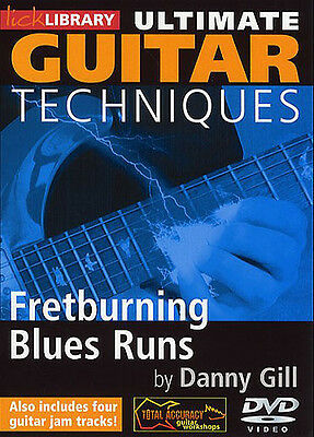 Lick Library: Ultimate Guitar Techniques - Fretburning Blues Runs Guitar DVD (Re