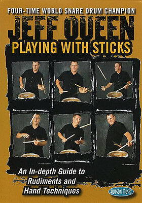 QUEEN JEFF PLAYING STICKS DRUM DVD; Queen, Jeff, Default setting - HL00320602