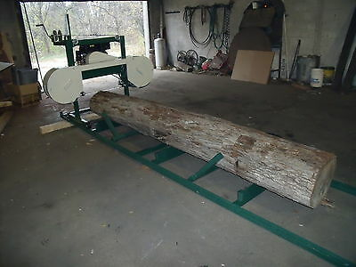 Band Sawmill Plans Build It Yourself Complete  Instructions (View Video Below)