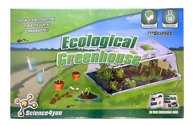 Brand New Ecological Greenhouse Science4you Educational Christmas Kids Gift Toy