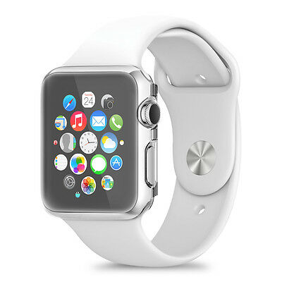kwmobile Crystal Case für Apple Watch 38mm (Series 1) Transparent Hardcase Uhr