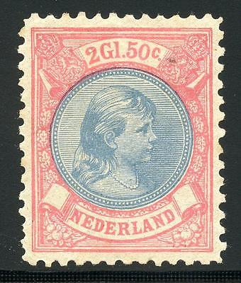 Netherlands Scott# 53 Nvph# 47 Mint Hinged As Shown Mhz