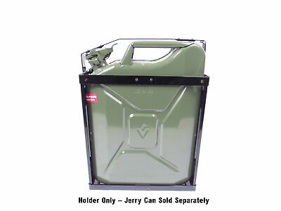 NATO Style Steel 5 Gallon (20 Liter) Jerry Can Holder, Fits Wavian Style Cans