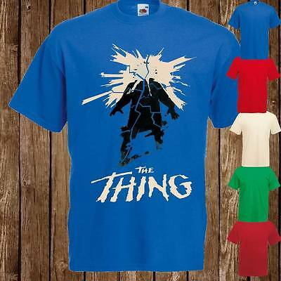 Mens Womans THE THING HORROR 80's Cult Movie T Shirt Tee Freepost UK