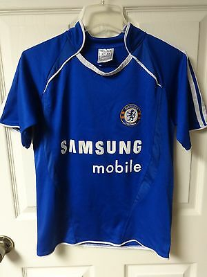 quality design 4391b 8923b VINTAGE FRANK LAMPARD # 8 England Chelsea Soccer Jersey Womens Large 8a -  10a