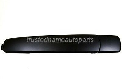 fits Nissan Rogue Outside Exterior Door Handle Primed Black Rear Driver Side