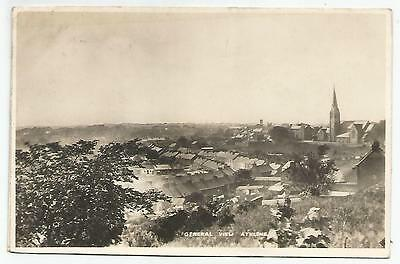 irish postcard ireland westmeath general view of  athlone
