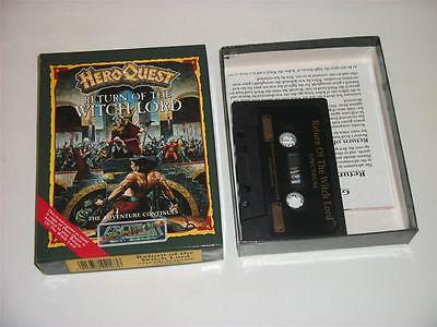 Sinclair ZX Spectrum ~ Hero Quest: Return mit the Witch Lord (Exp. Packung)