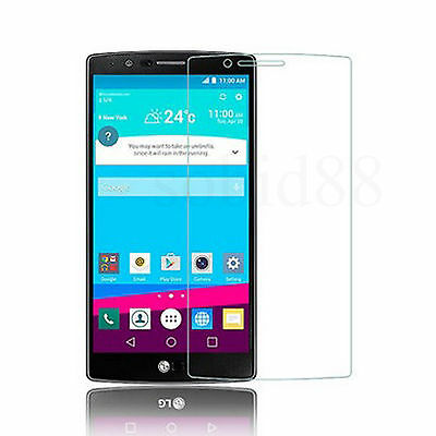 Tempered Glass HD Clear Screen Protector Shield Film Protect For LG G4