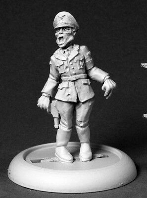 Reaper Miniatures NAZI ZOMBIE OFFICER Chronoscope 50221