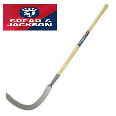 Spear And Jackson Long Handle Brushing Slasher Tool Weed Undergrowth 4655Bm