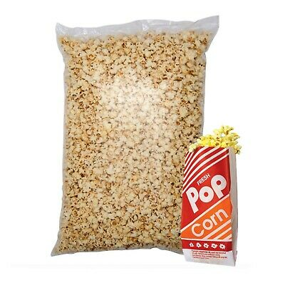 Ready made popcorn - FREE  popcorn serving  bags great for parties