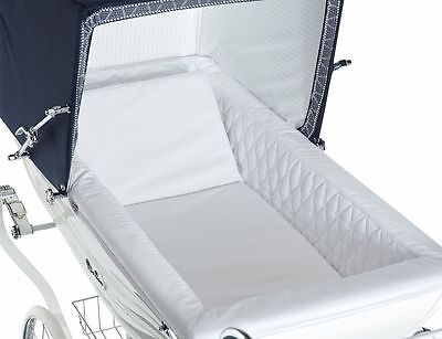 COACH BUILT PRAM PADDED INTERIOR LINER for SILVER CROSS BALMORAL 40""