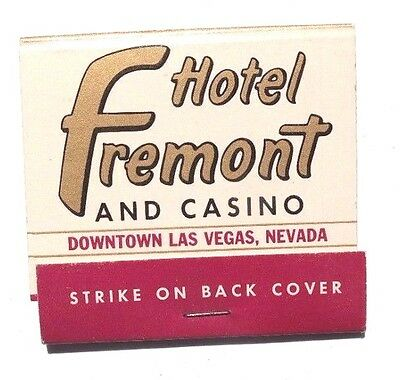 Vintage FREMONT HOTEL AND CASINO Las Vegas Nevada MATCHBOOK