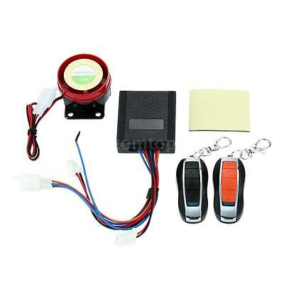 Electric Bicycle Antitheft Security Alarm System Remote Control Start Waterproof