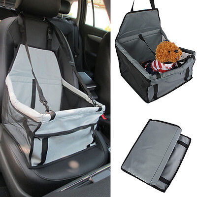 Safety Pet Car Seat Belt Cover Oxford Cloth Booster Bag Travel Mat Dog Cat Puppy
