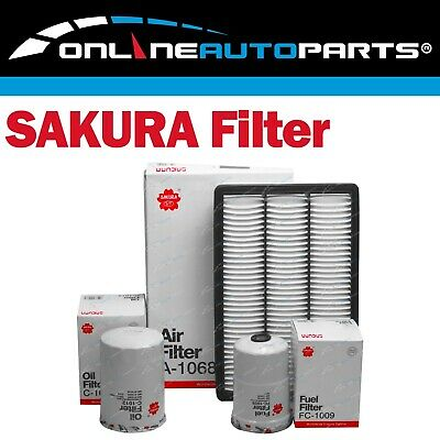 Air Oil Fuel Filter Service Kit for Pajero 4M41-T Turbo Diesel 3.2L NM NP 02~06