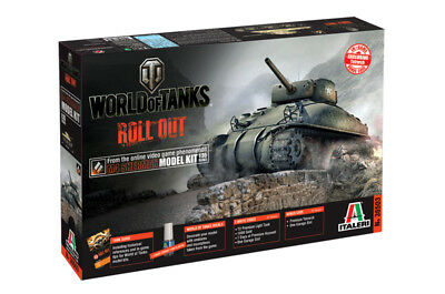 Italeri 36503 - 1/35 World Of Tanks - M4 Sherman - Neu
