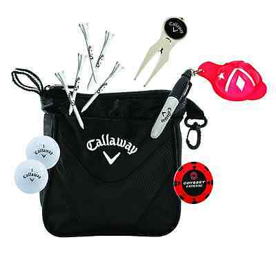 New - Callaway Golf Starter Golfer Gift Set