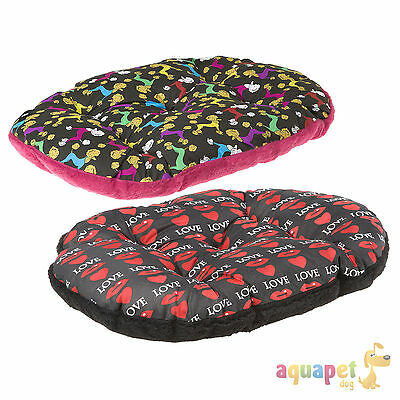 Ferplast Relax Dog Cat Cushion Love or Poodle Designs