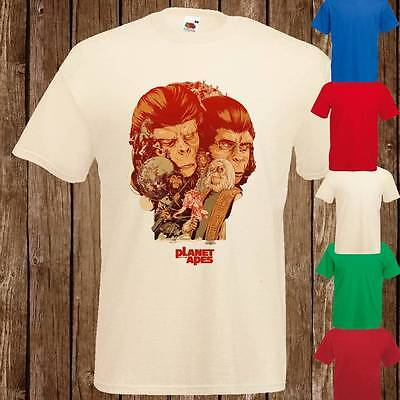 PLANET OF THE APES Cult Original 1960's Art Design Mens Womans T Shirt Tee