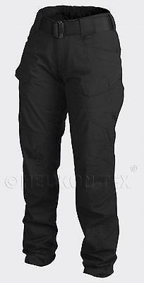 HELIKON TEX Womens UTP URBAN TACTICAL Outdoor PANTS Trousers Hose Black 34/34