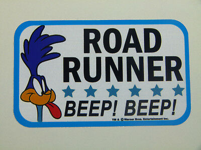 "Oldschool Sticker "" Roadrunner Beep  ""  Aufkleber / Hot Rod US Car - Ratrod V8"