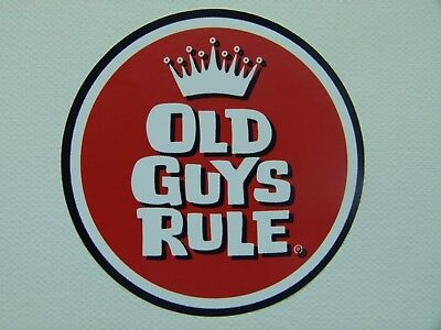Retro Aufkleber Sticker Old Guys US V8 Ratrod Hot Rod Oldschool Autoaufkleber V6