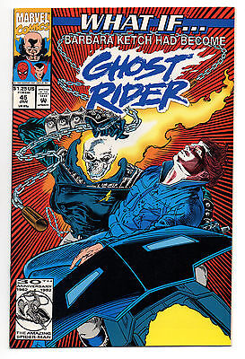 What If Vol 2 No 45 Jan 1993 (VFN+) Barbara Ketch had become the Ghost Rider