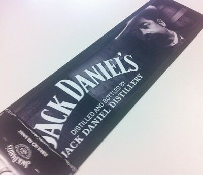 FACE Jack Daniels Bar Runner Mat PUB Bug logo Fathers Day Man Cave Gift GIFT